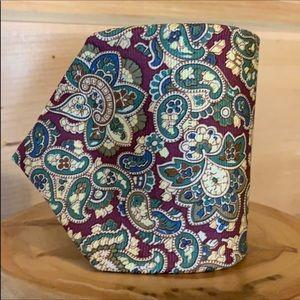 Brooks Brothers paisley print silk necktie